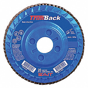 FLAP DISC TRIM T29 5 X 7/8 60X