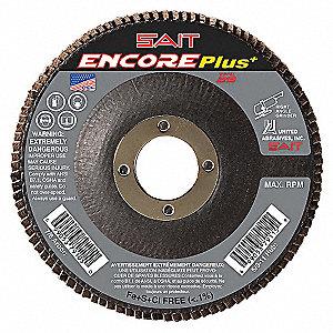 FLAP DISC ENCORE T29 5 X 7/8 40X