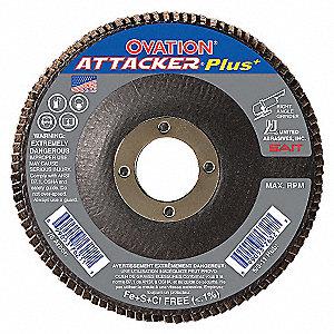 FLAP DISC OVATION ATT 4.5X7/8 60X