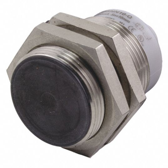 600 Hz Inductive Cylindrical Proximity Sensor with Max. Detecting Distance 15.0 mm