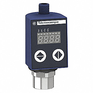 Fluid/Air Pressure Sensor,0 to 10VDC