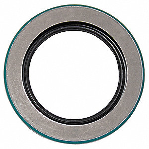 "Single Lip Rotary Shaft Seal with 2-1/4"" Inside Dia. and 3-3/8"" Outside Dia."