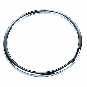 Tether Ring,Steel,2in. Dia.