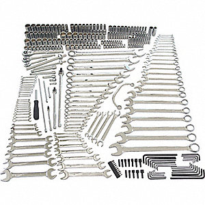 300pc.-Preventative Maintenance, SAE, Metric, Tool Storage Included : No