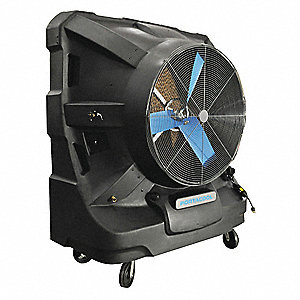 PORTABLE EVAPORATIV COOLER,22500CFM,48IN