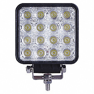 WORKLAMP LED FLOOD 4IN SQUARE 48W