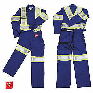 FR COVERALL, ROYAL BLUE, L