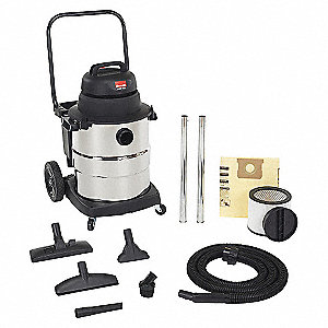 37.8L WET/DRY VAC, IND. S/S 6.5PHP