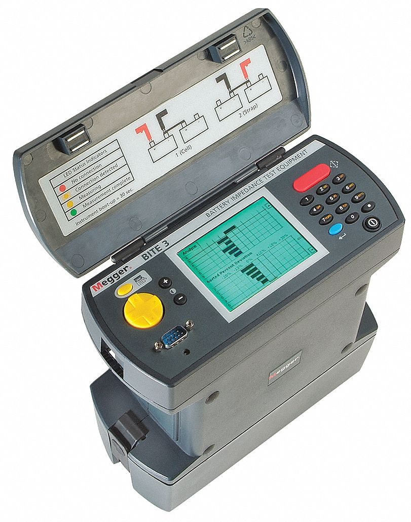 Battery Capacity Analyzer, LCD