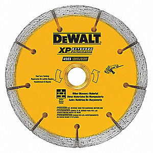 "6"" Dry Diamond Saw Blade, Segmented Rim Type, Application: Masonry"