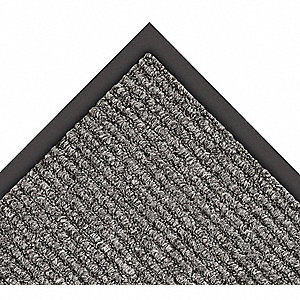 Charcoal Decalon® Yarn, Entrance Runner, 6 ft. Width, 60 ft. Length