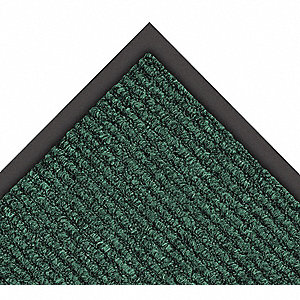 Hunter Green Decalon® Yarn, Entrance Runner, 6 ft. Width, 60 ft. Length