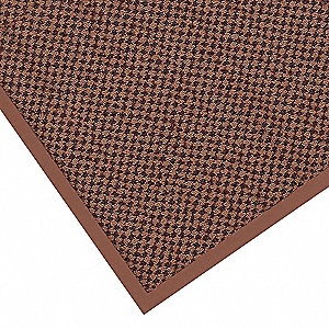 Brown Decalon® Yarn, Entrance Mat, 2 ft. Width, 3 ft. Length