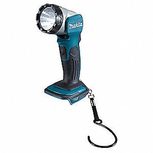 Cordless Flashlight,Teal,LED,200 L