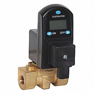 Digital Drain Valve,115V,1/4 In.,38 gpm