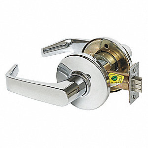 Lever Lockset,Mechanical,Passage,Grd. 1