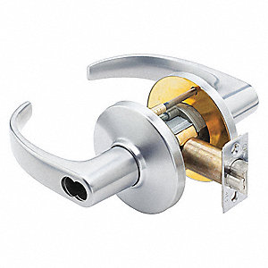 Lever, Mechanical, Not Keyed, Cylindrical, Commercial, Institutional