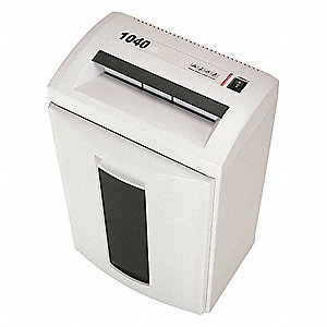 Small Office Paper Shredder Cross Cut Style Security Level 3