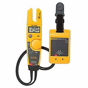 "Split Digital Clamp Meter Kit, 1/2"" Jaw Capacity, CAT IV 600V, CATIII 1000V"