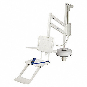 Spa Lift w/Armrests/Key,Steel,300 lb.