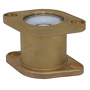 Low Lead Brass Rotating Flanged Check Valve, 1-1/2 - 2 Flanged Pipe Size (In.)