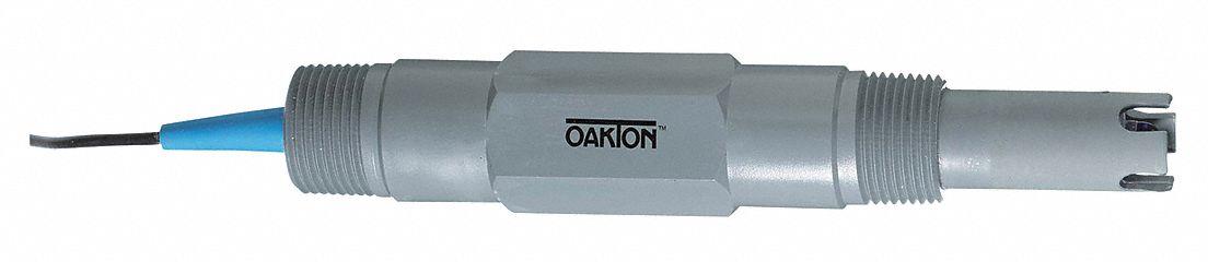 0-14 pH Range Standard 2 Set Oakton WD-35805-05 12mm Single-Junction Epoxy Body Gel-Filled pH Electrode