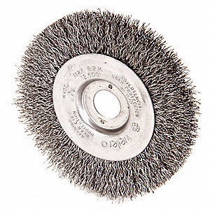 Fantastic 4 Crimped Wire Wheel Brush Arbor Hole Mounting 0 014 Wire Dia 7 8 Bristle Trim Length 1 Ea Caraccident5 Cool Chair Designs And Ideas Caraccident5Info