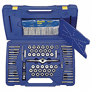 Self Alignment Tap & Die Set,116 pc