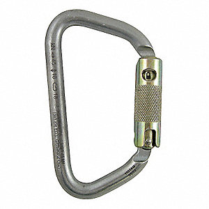 Carabiner,Autolock,Steel,Strength 45 KN