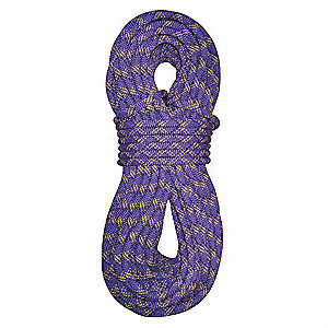 "7/16"" dia. Nylon Arborist Climbing Rope, Purple, 164 ft."