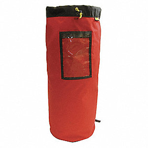 "Red Rope Bag,  Ballistic Nylon,  21"" Length"