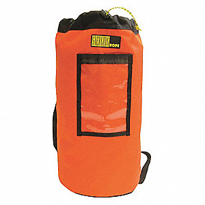Medium Rope Bag,  Orange