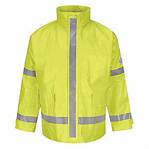 RAIN JACKET 13 OZ HIGH VIS 4XL