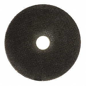 "4-1/2"" Type 1 Ceramic Abrasive Cut-Off Wheel, 7/8"" Arbor, 0.040""-Thick, 13,300 Max. RPM"