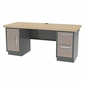 "Workbench, Butcher Block, 30"" Depth, 35-3/4"" Height, 72"" Width, 1800 lb. Load Capacity"