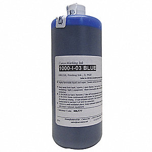 Marking Ink with Solvent Base Type and 30 to 60 sec. Dry Time, Blue