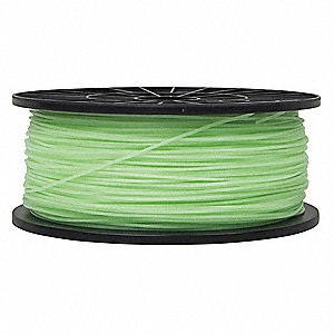Dark Green Glow-in-the-Dark Filament, PLA, 1.75mm Diameter