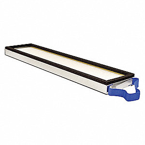 "Air Filter, Rectangular, 1-21/32"" Height, 25-31/32"" Length"