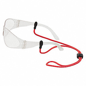 Eyewear Retainer,26 in. L,Red