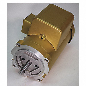 1/2 HP General Purpose Motor,Capacitor-Start,1140 Nameplate RPM,Voltage 115/230,Frame 56C
