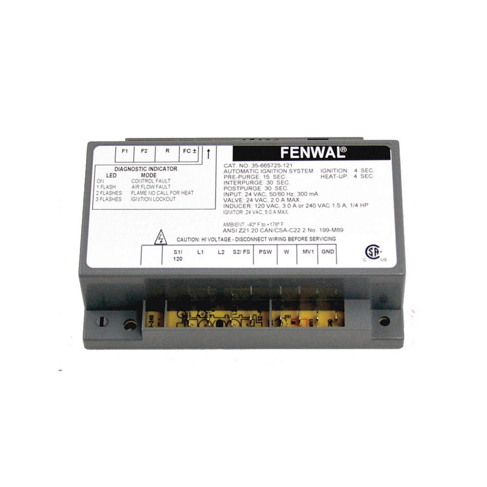 40LX26_AW01?$zmmain$ fenwal ignition controls control board, 24v 40lx26 35 665725 121 fenwal ignition module wiring diagram at alyssarenee.co