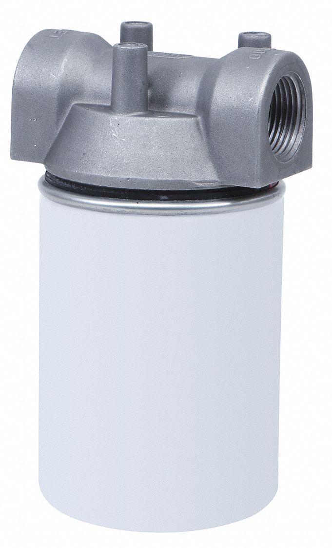 DAYTON Spin on Cartridge Fuel Filter Housing, Steel, 1 in NPT -  40M298|40M298 - Grainger | Spin On Fuel Filter Housing |  | Grainger