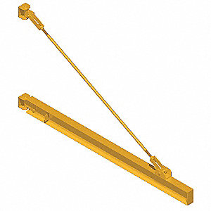 Jib,Wall Mount,Cap 500Lb,Weight 2760Lb
