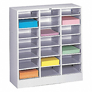 LITERATURE SORTER, LEGAL, LITE GREY