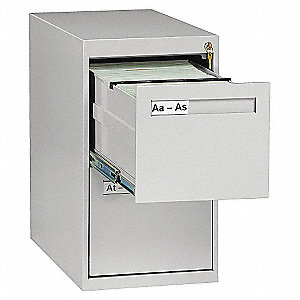 VERTICAL FILE, LETTER, 2 DRAWER