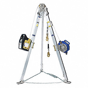 Confined Space Entry System,7ft H,60ft L