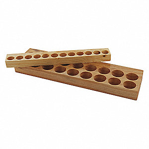 TG100 Wooden Collet Holding Tray, 2 Height (In.), 6-1/8 Width (In.)