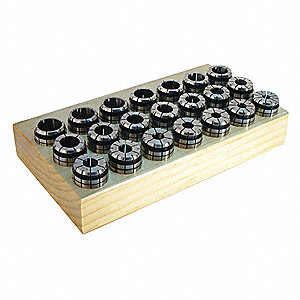 Collet Set,TG75,1/32 in.,22 pcs.