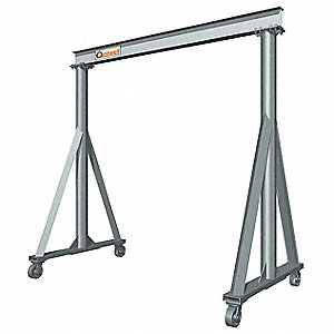 Portable Gantry Crane,2000 lb.,9 ft.