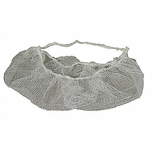Beard Cover,Plystr,19 in.,White,PK1000